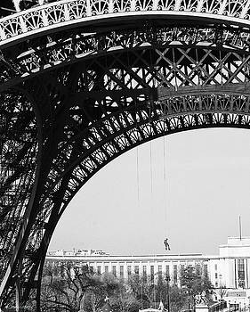 View Beneath Eiffel Tower by Diana Haronis