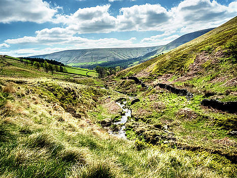View Down Crowden Clough by Nick Bywater