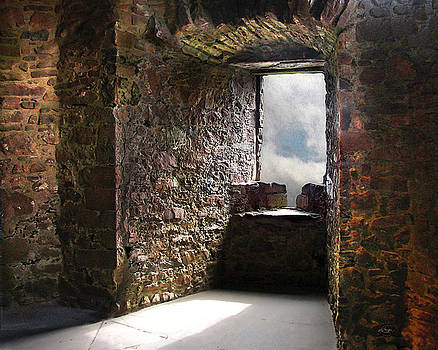 View From A Lofty Tower by Vicki Lea Eggen