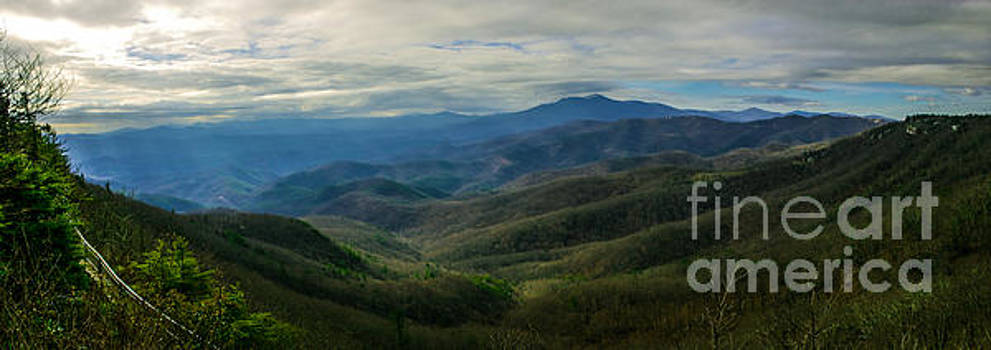View from Blowing Rock by Gregory Schultz