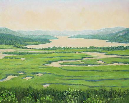 View from Boscobel by Jane  Simonson