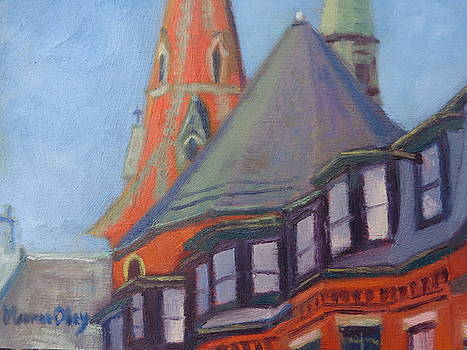 View from Charles St Boston by Maureen Obey