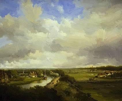 Weissenbruch Johan Hendrik - View From Dekkersduin 1849
