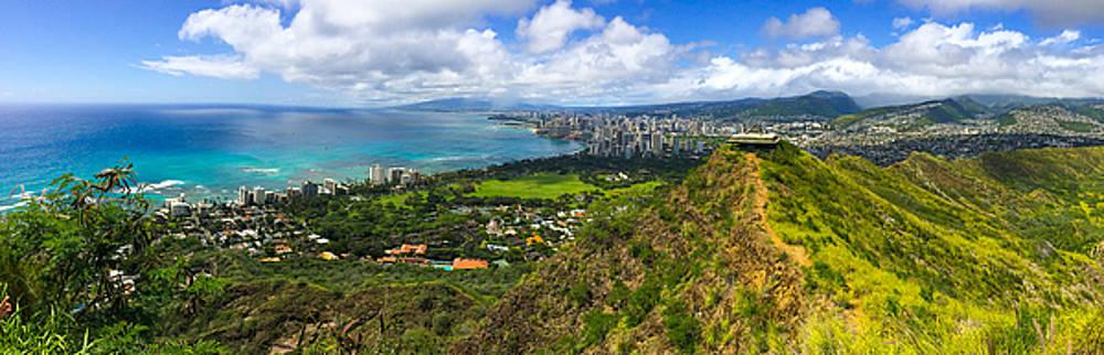 Kimberly Blom-Roemer - View From Diamond Head Honolulu Hawaii