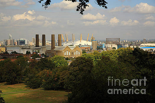 View from Greenwich Park by Deborah Benbrook