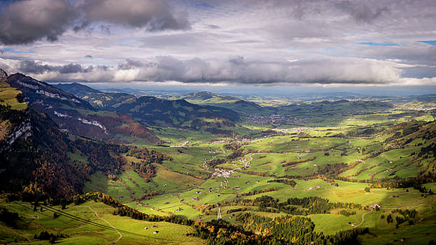 View from Hoher Kasten II by Gretchen Tracy