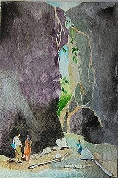View from inside of Limestone Cave by Prakash Sree S N