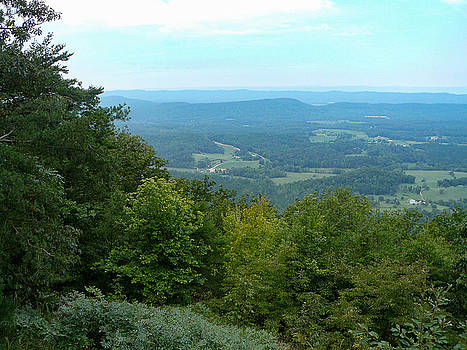 View from Johns Mountain Overlook by Linda Geiger