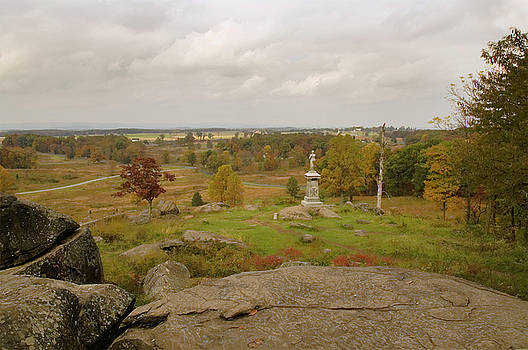 Mick Burkey - View from Little Round Top 2