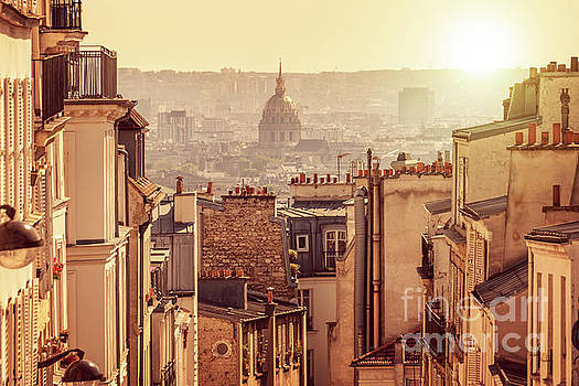 View from Montmartre by Delphimages Photo Creations