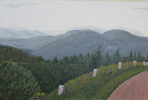 View from Mount Equinox by Gary Conger