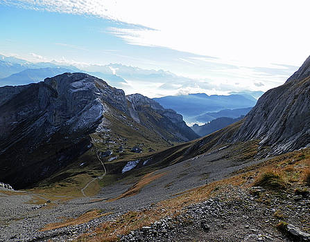 View from Mt Pilatus by Pema Hou