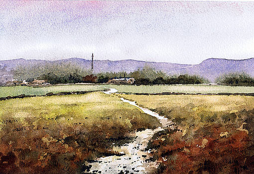 View from Norland Moor by Paul Dene Marlor