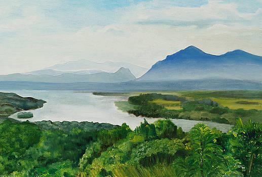 View From Olana by Gloria Cigolini-DePietro
