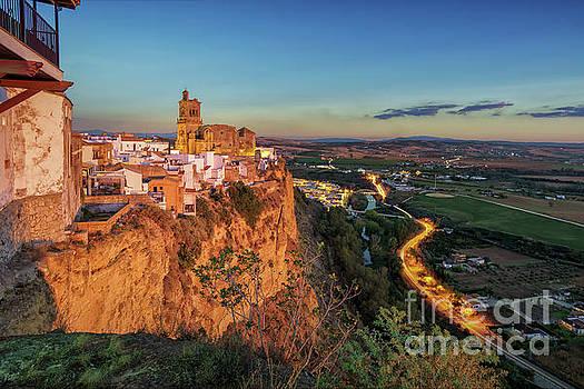 View from Parador De La Pena Arcos De La Frontera Cadiz Spain by Pablo Avanzini