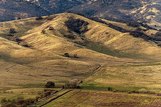 View From Pena Adobe by Bill Gallagher