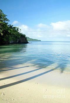 View from Qamea island, Fiji by Julia Hiebaum
