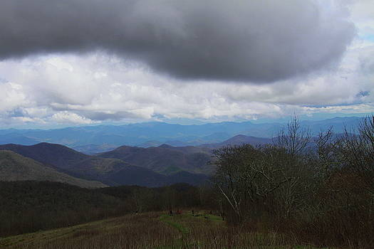 View From Silers Bald 2015b by Cathy Lindsey