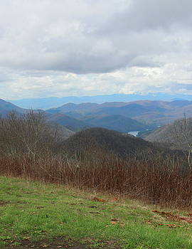 View From Silers Bald 2015c by Cathy Lindsey