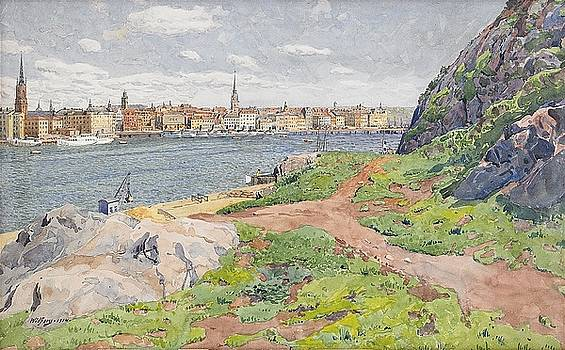 View from Sodermalm to Gamla Stan by MotionAge Designs