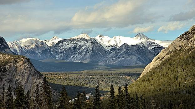 View from Sulpher Mountain by Andrew Miles