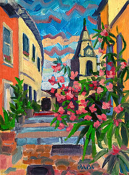 View from the Alley at Arles by Ralph Papa