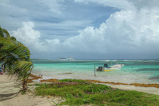 View from the Beach by John M Bailey