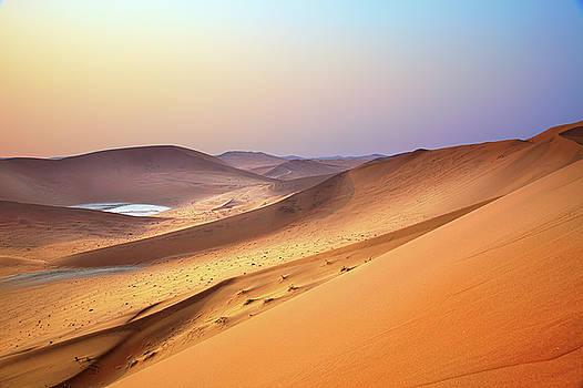 View from the Big Daddy Dune in the Namib desert by Martin Wackenhut