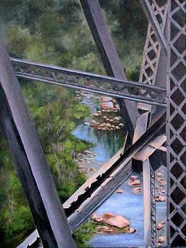 View From the Bridge--Sedona, AZ by Mary McCullah