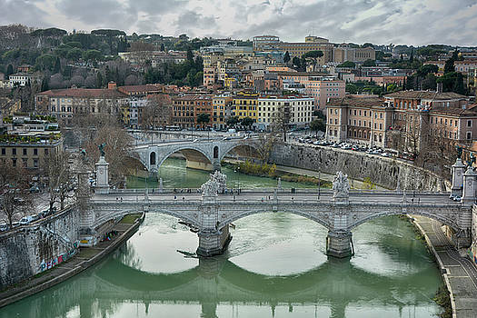 View from the Castel Sant Angelo by Joachim G Pinkawa