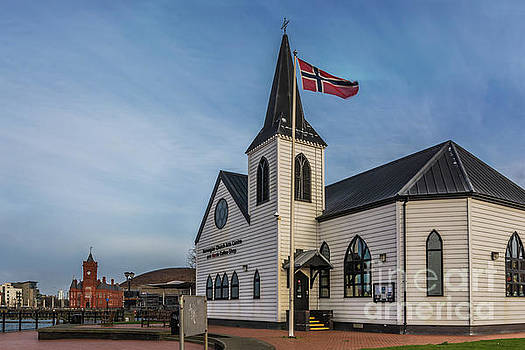 View From The Norwegian Church by Steve Purnell