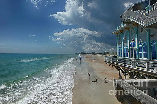 View from the Pier by Judy Hall-Folde
