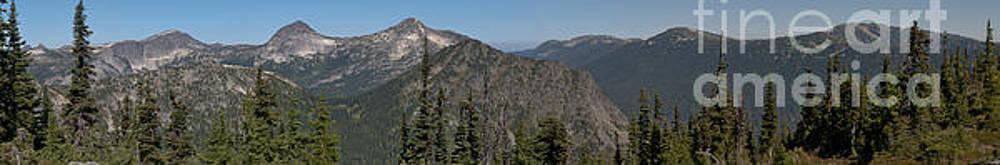 Rod Wiens - View from Zoa Peak Ridge