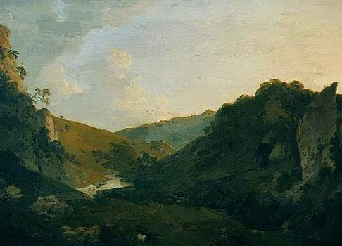 Wright Joseph - View In Dovedale