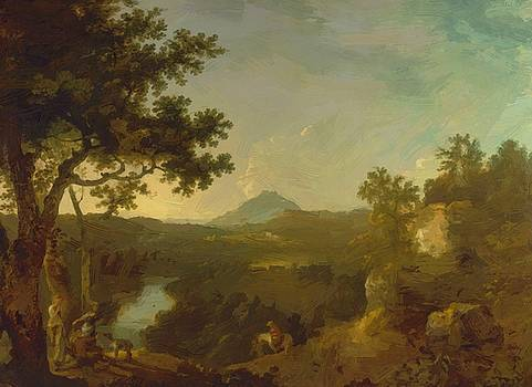 Wilson Richard - View Near Wynnstay The Seat Of Sir Watkin Williams Wynn Bt 1771