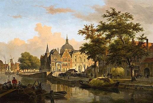 View of a Dutch City by MotionAge Designs