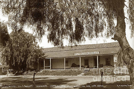 California Views Mr Pat Hathaway Archives - View of adobe building  the General John C. Fremont  1898
