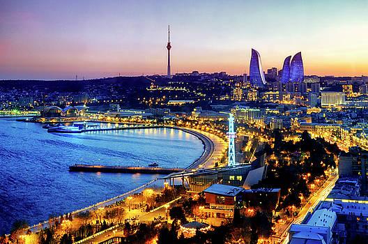 View of Baku by Fabrizio Troiani