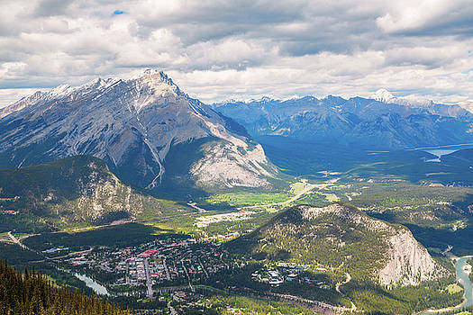 View of Banff by Stuart Gennery