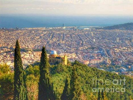 View of Barcelona by Hilary England