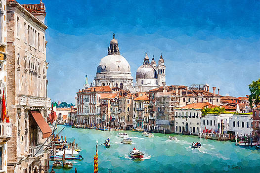 View of Canal Grande by Kai Saarto