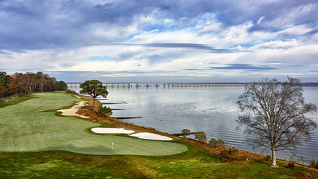 View of Chesapeake Bay - Hyatt Regency Resort and Golf by Brendan Reals