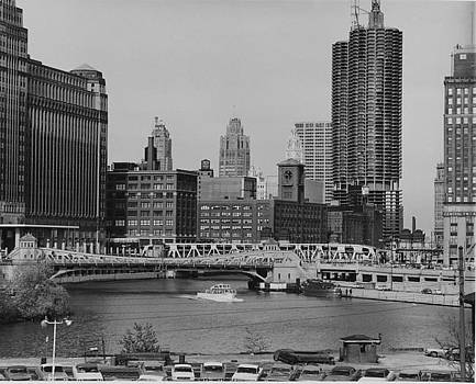 Chicago and North Western Railway Archives - View of Chicago from River