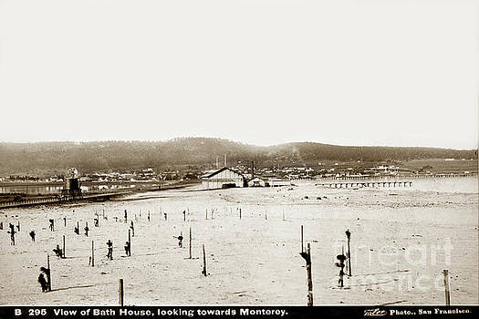 California Views Mr Pat Hathaway Archives - View of Del Monte Bath House looking Southwest towards Monterey