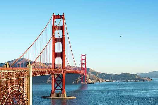 View of Golden Gate Bridge by Stacey Sather