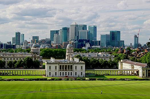 View of Greenwich and London by Lexi Heft