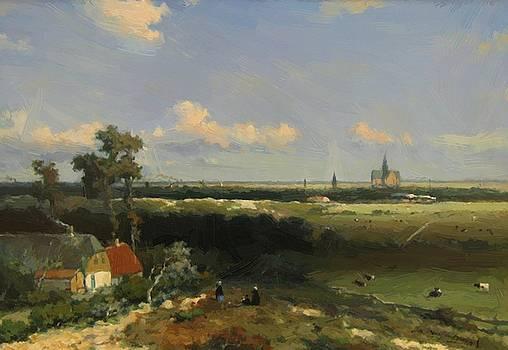 Weissenbruch Johan Hendrik - View Of Haarlem 1848