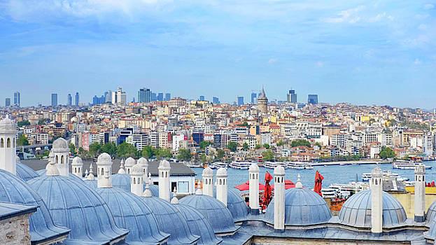 View of Karakoy by Fabrizio Troiani