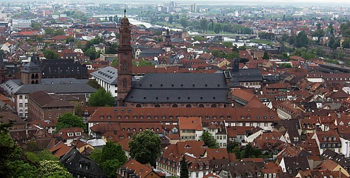 Teresa Mucha - View of Jesuitenkirche