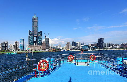 View of Kaohsiung Waterfront by Yali Shi